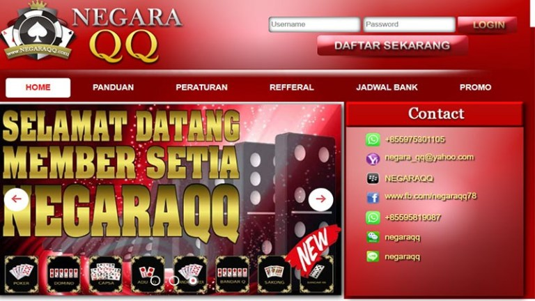 NegaraQQ Situs Agen Poker BandarQ Online Terpercaya